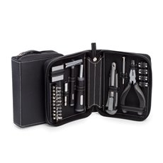 22 pc Tool Set in Black Leatherette Case
