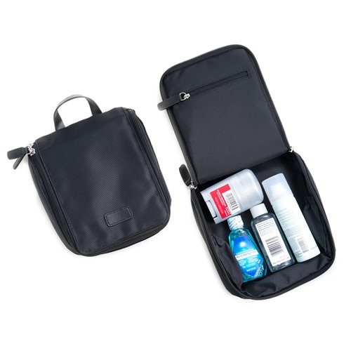 Black Ballistic Nylon Storage Case and Accessories Pouch
