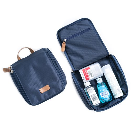 Blue Ballistic Nylon Storage Case and Accessories Pouch