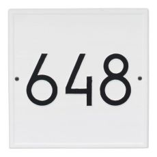 Square Modern Personalized Wall Plaque, Coastal Clay