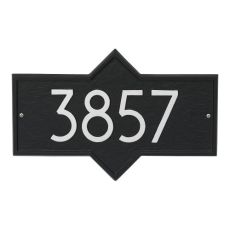 Hampton Modern Personalized Wall Plaque, Oil Rubbed Bronze
