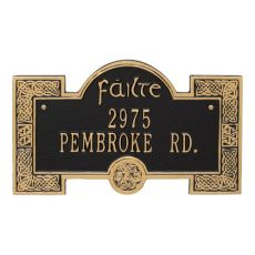 Failte Plaque, Green Gold