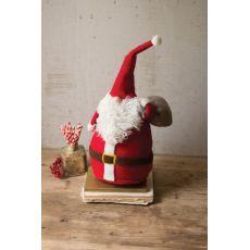 Felt Santa With Toy Bag