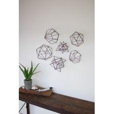 Geometric Orb Wall Art Set of 6