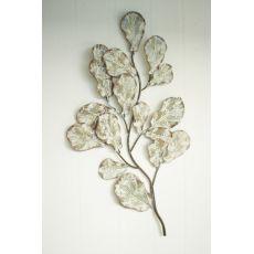 Metal Oak Leaves Wall Decor