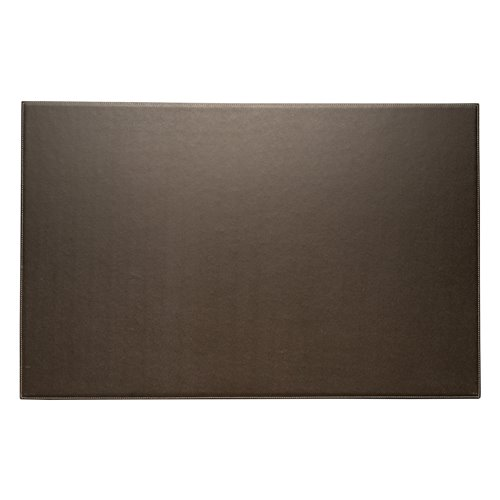 Coco Brown Leather 18x28 Desk Pad