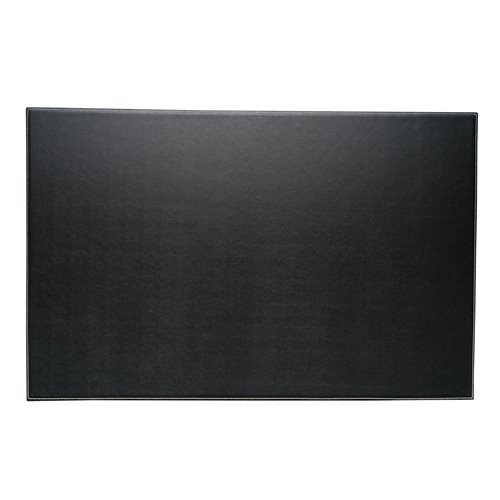 Black Leather 18x28 Desk Pad