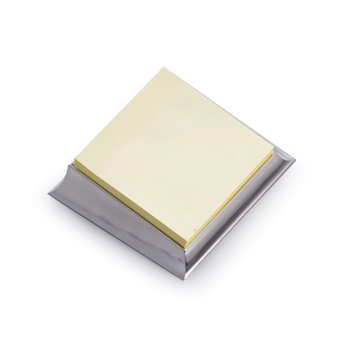 Silver Plated Sticky Note Holder