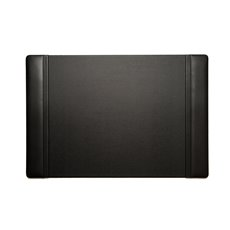 Black Leather 17x26 Desk Pad