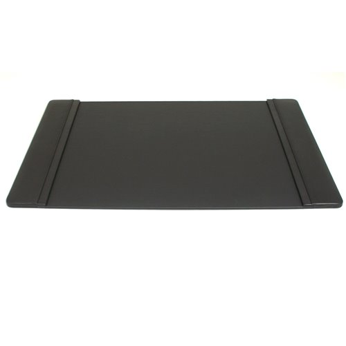 Black Leather 20x34 Desk Pad
