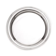 Nickel Plated 12 1/4 Round Tray