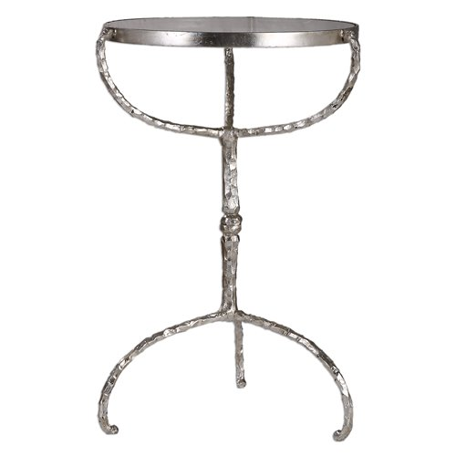 Uttermost Halcion Cast Iron Accent Table
