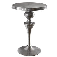 Uttermost Noland Aluminum Accent Table