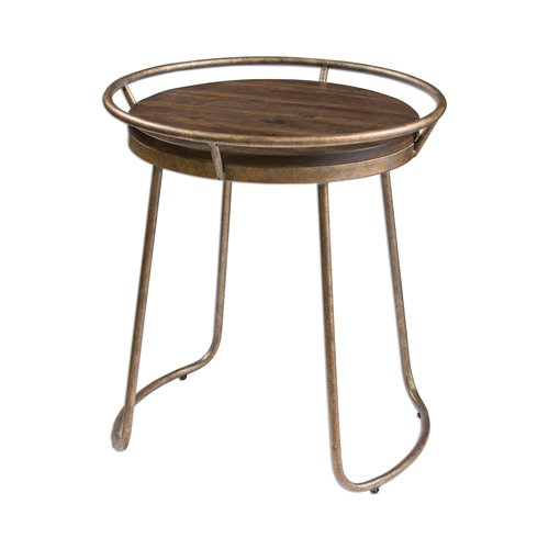Uttermost Rayen Round Accent Table
