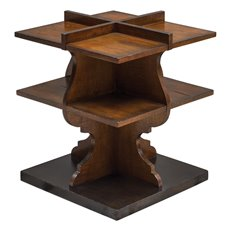 Uttermost Niko Honey Accent Table