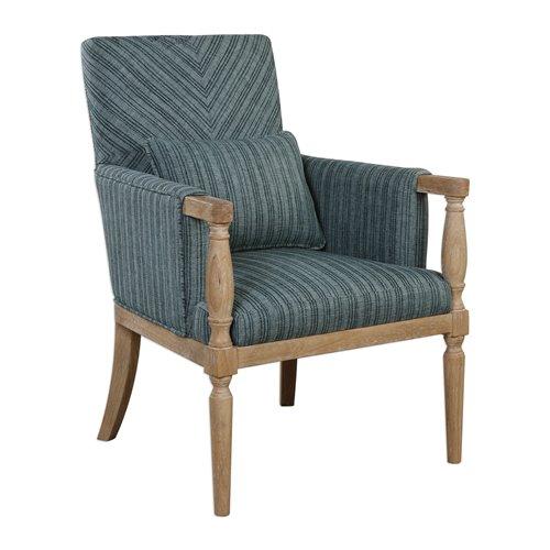 Uttermost Seamore Pattern Armchair
