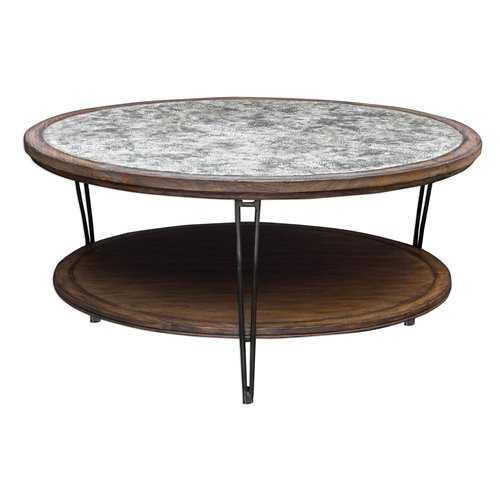 Uttermost Saskia Rustic Coffee Table