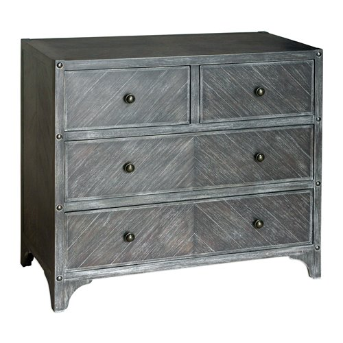Uttermost Brishen Gray Accent Chest