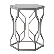 Uttermost Stellan Iron Accent Table