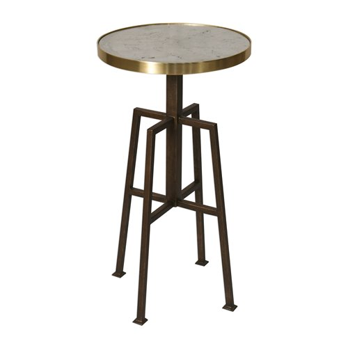 Uttermost Gisele Round Accent Table