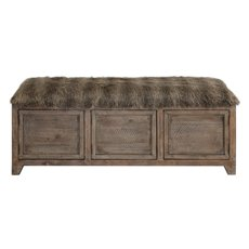 Uttermost Truett Wooden Storage Bench