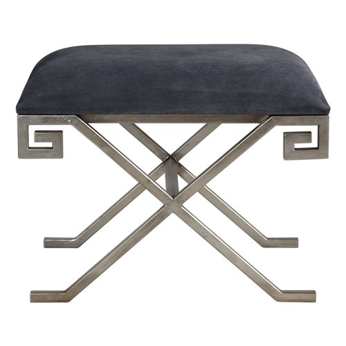 Uttermost Liddell Indigo Blue Small Bench
