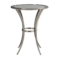 Uttermost Sherise Beaded Metal Accent Table