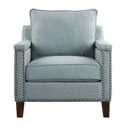 Uttermost Charlotta Sea Mist Accent Chair