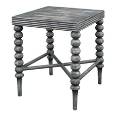 Uttermost Kunja Gray End Table