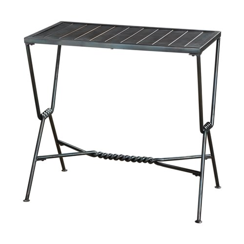 Uttermost Gauther Aged Steel Accent Table