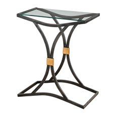 Uttermost Verino Arched Iron Accent Table