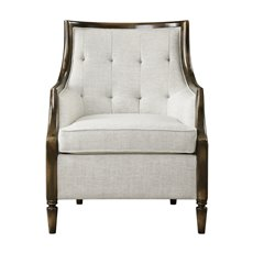 Uttermost Barraud Oatmeal Accent Chair