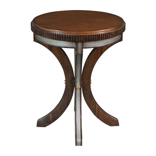Uttermost Grae Walnut Accent Table