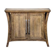 Uttermost Cary Distressed Console Cabinet