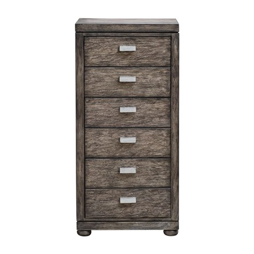 Uttermost Chayton Driftwood Gray Drawer Chest