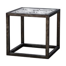 Uttermost Baruti Iron Frame End Table