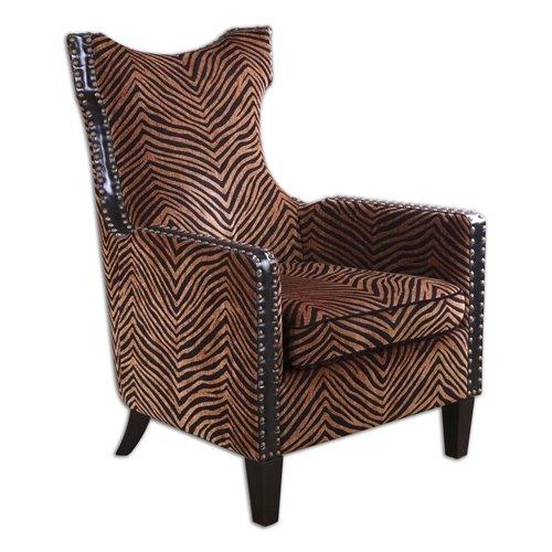 Uttermost Kimoni Wing Back Armchair