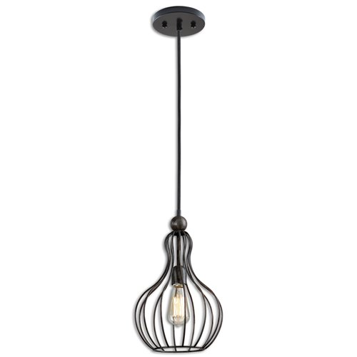 Uttermost Bourret 1 Light Pendant