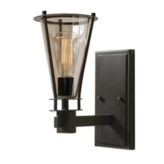 Uttermost Frisco 1 Light Rustic Wall Sconce