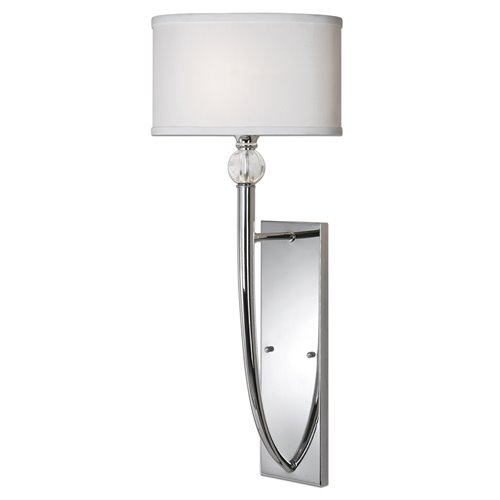 Uttermost Vanalen 1 Light Chrome Wall Sconce