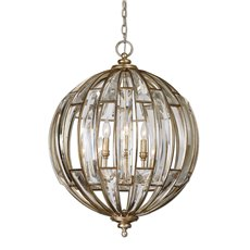 Uttermost Vicentina 6 Light Sphere Pendant