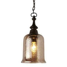 Uttermost Lustre 1 Light Mini Pendant