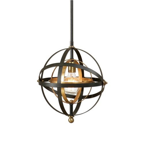 Uttermost Rondure 1 Light Sphere Mini Pendant