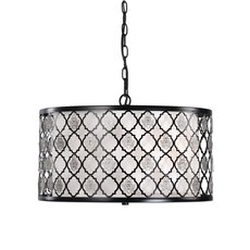 Uttermost Filigree 3 Light Drum Pendant