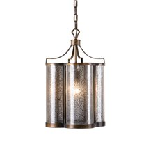 Uttermost Croydon 1 Light Mercury Glass Pendant