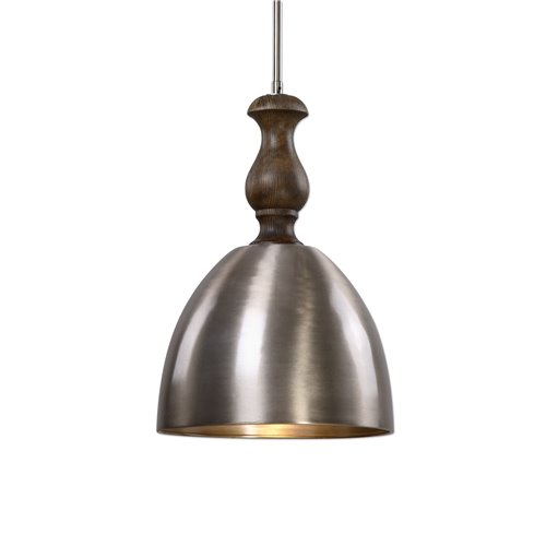 Uttermost Luna 1 Light Aluminum Mini Pendant
