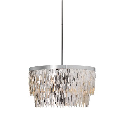 Uttermost Millie 6 Light Chrome Pendant