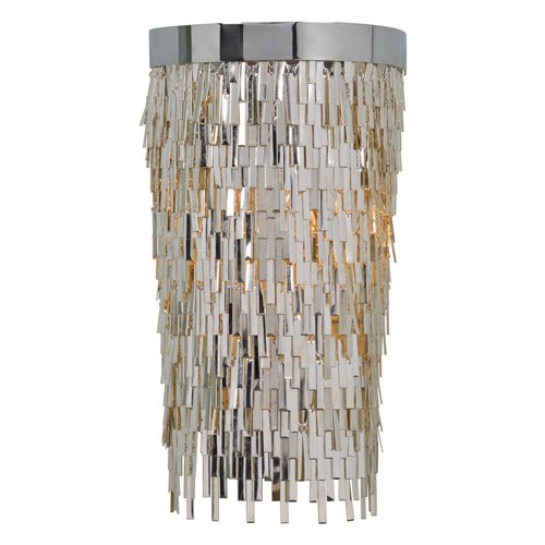 Uttermost Millie 1 Light Chrome Sconce