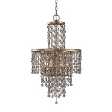 Uttermost Valka 6 Light Crystal Chandelier