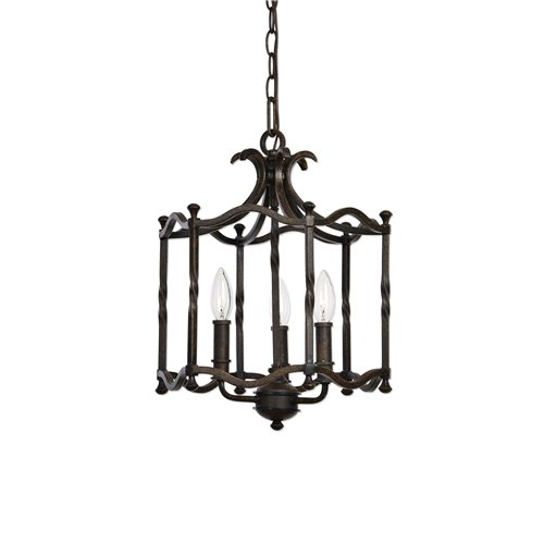 Uttermost Candela Old World 3 Light Pendant